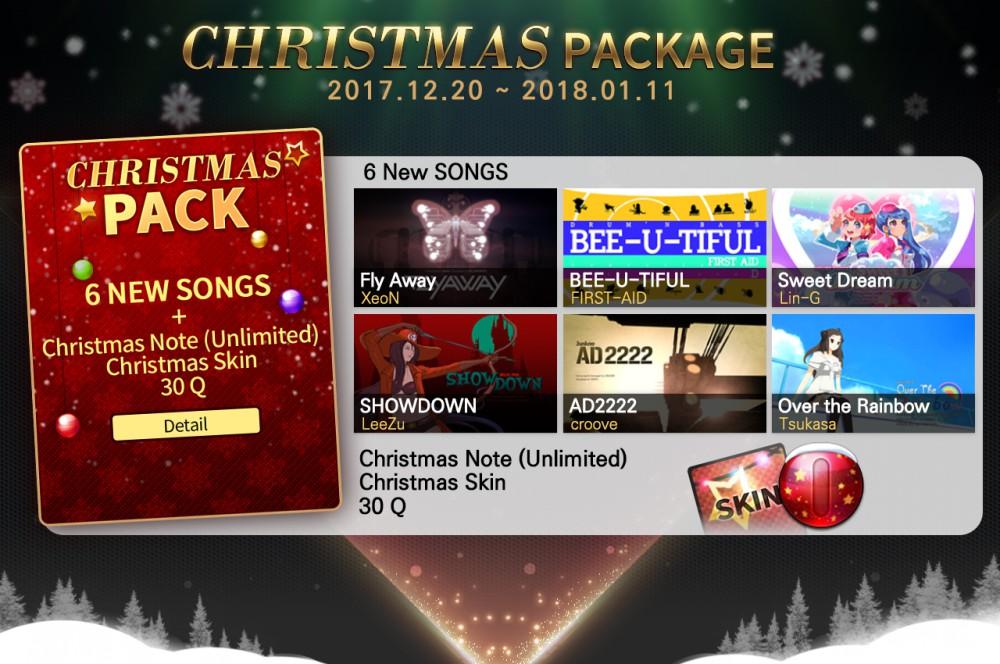 [네오위즈] 이미지-  리듬게임 '테크니카Q', 크리스마스 스페셜 패키지.jpg